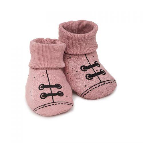 Buciki dla niemowląt Perit Lou Pinokio Roz 56/62