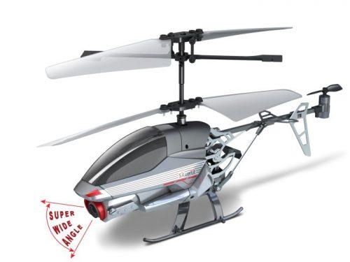 Zdalnie sterowany I/R 2,4G helikopter Silverlit SPY CAM II Biały