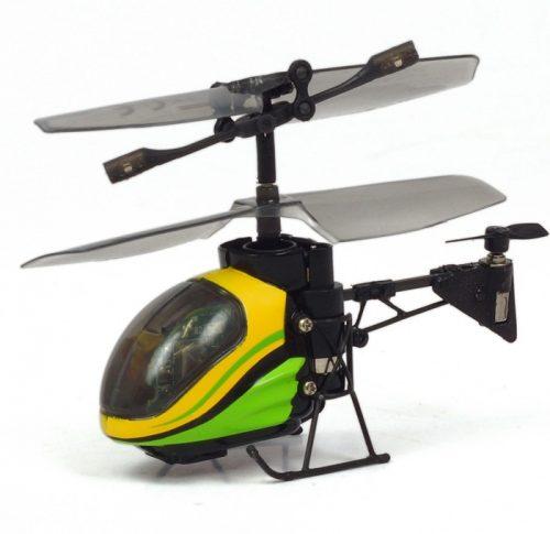 Helikopter zdalnie sterowany trzykanałowy - Silverlit I/R Nano Flacon Żółty