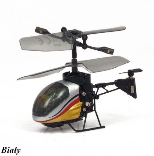 Helikopter zdalnie sterowany trzykanałowy - Silverlit I/R Nano Flacon Biały