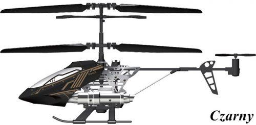 Helikopter 3 kanałowy z żyroskopem, Silverlit Czarny
