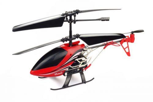 Silvelit Helikopter zdalnie sterowany I/R Sky Gryffin - 3-kanałowy z żyroskopemCzerwony