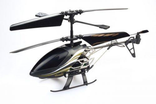 Silvelit Helikopter zdalnie sterowany I/R Sky Gryffin - 3-kanałowy z żyroskopem Szary