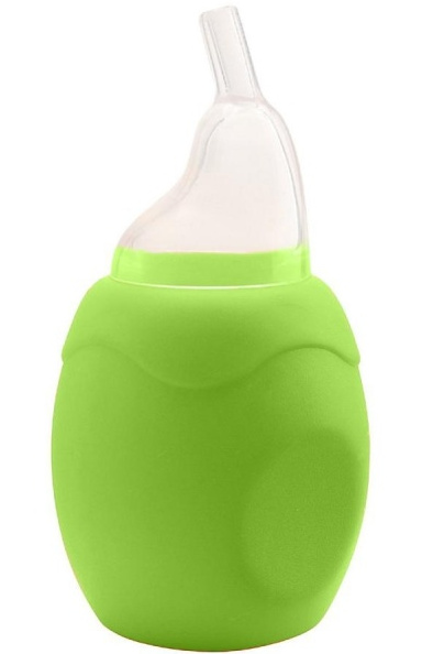 Gruszka - aspirator do nosa Primamma 0m+ Zielony