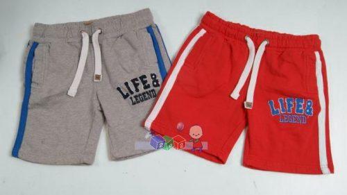 Krótkie spodnie dresowe ze ściągaczem Life and Legend 134-140 Czerwony