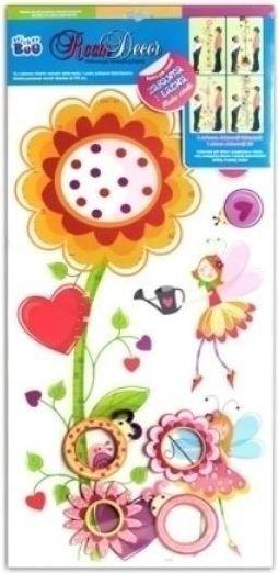 Dekoracja ścienna RDA Kwiaty Sticker Boo