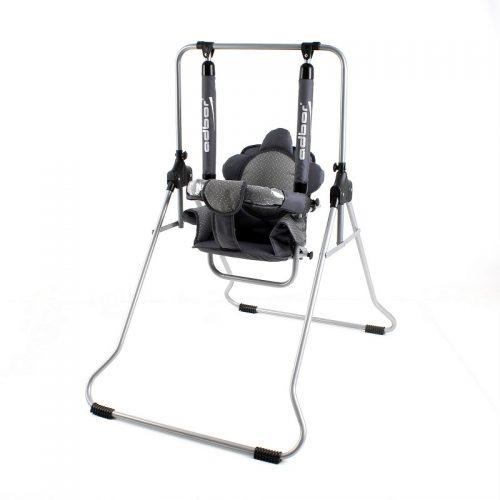 Huśtawka dla dzieckai do 20 kg z daszkiem przeciwsłonecznym i moskitiera