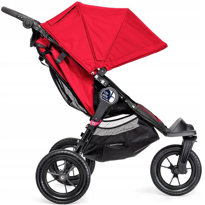 Wózki spacerowe City Elite firmy Baby Jogger - spacerówka 3 kołowa + pałąk_Anniversary