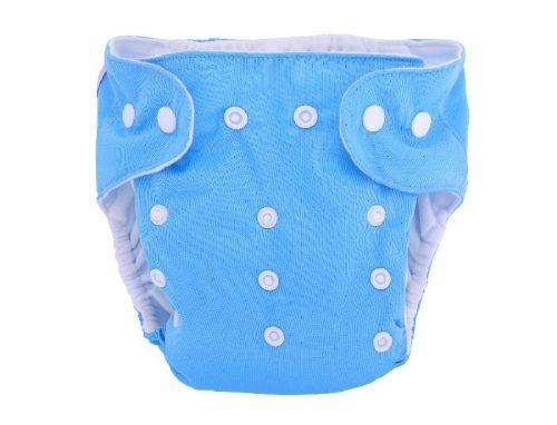 Majteczki z kieszonka Pul wielorazowe pieluszki Simed Niebieska