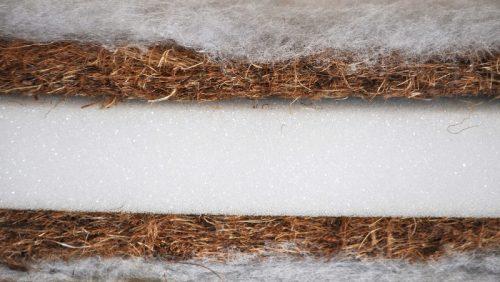 Materac 120x60 kokos pianka kokos Tecomat