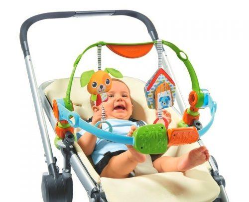 Tiny Love Łuk z zabawkami Spin n Kick do wózka