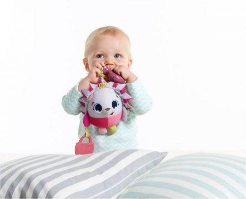 Tiny Smarts Zawieszka z gryzakiem - Jeżyk Marie, Tiny Love - Różowy