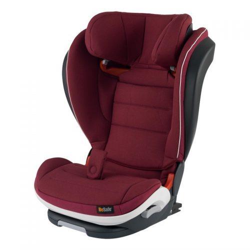 Besafe Izi Flex Fix I-Size 15-36 kg fotelik samochodowy, Burgund Melange