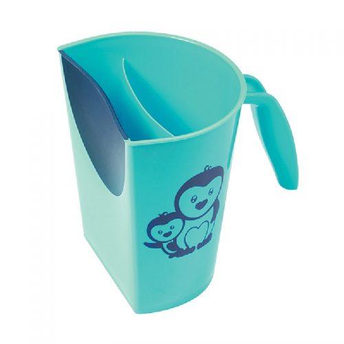 Kubek do spłukiwania głowy w kąpieli Babyono niebieski