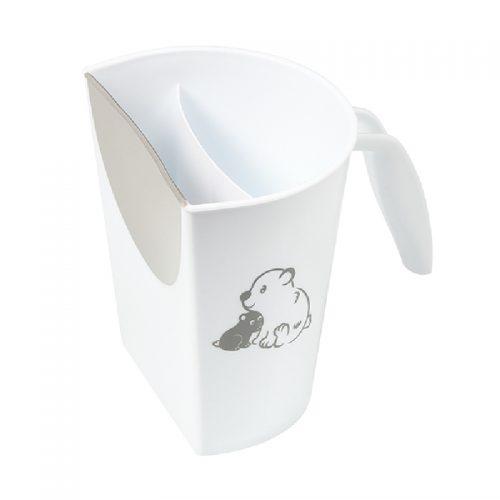Plastikowy kubek do spłukiwania głowy dla dzieci szary Babyono 242