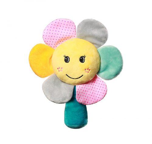 Grzechotka dla dziecka kwiatek Rainbow Flower Babyono