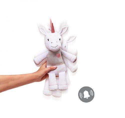 Przytulanka dla niemowląt Unicorn Lucy 34cm Babyono 630
