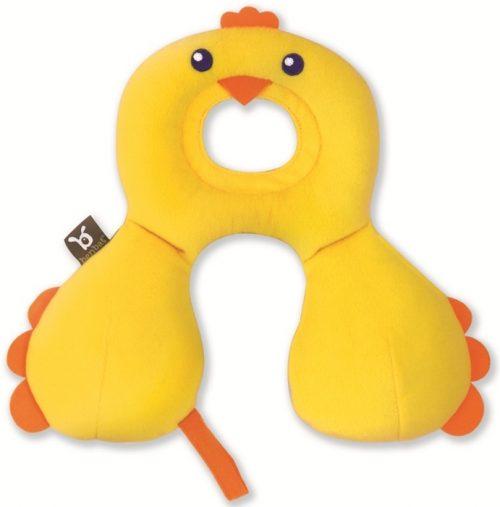 Zagłowek poduszka podróżna dla dzieci 0-12 żółty Benbat