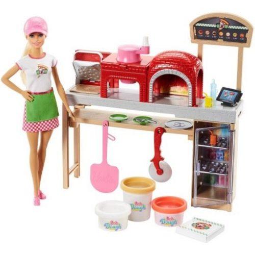 Barbie pizzeria zestaw do zabawy FHR09
