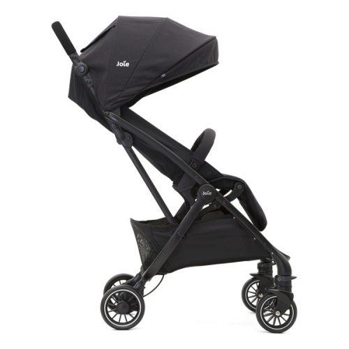 Lekki, kompaktowy wózek spacerowy Tourist marki Joie, kolor Coal