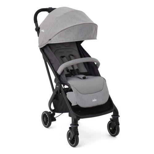 Lekki, kompaktowy wózek spacerowy Tourist marki Joie, kolor Grey Flannel