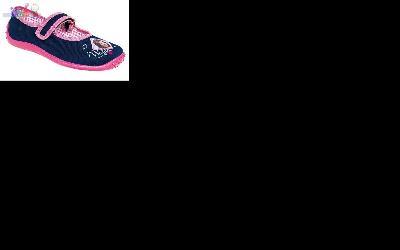 Baleriny na rzep obuwie dla dziewczynek Zetpol 0386_26