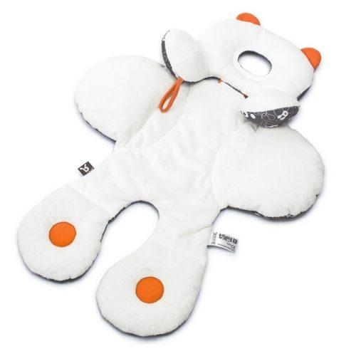 Wkładka do fotelika samochodowego 0-13 kg redukcyjna dla niemowląt Ben Bat Biały