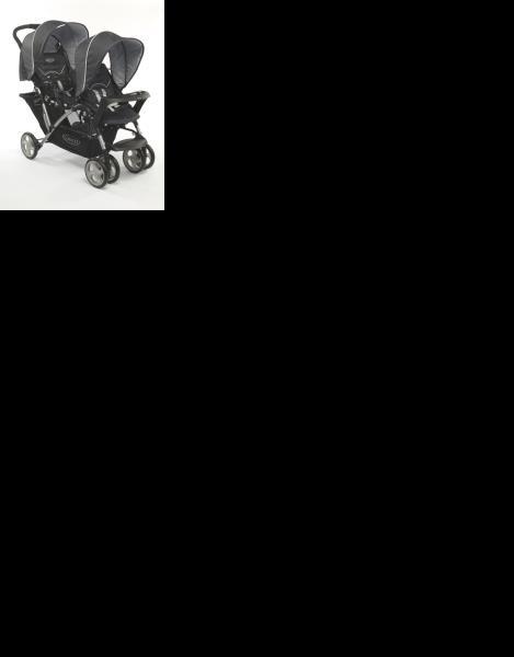 Wygodny spacerowy wózek podwójny Graco Stadium Duo