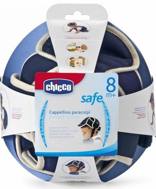 Kask ochronny Chicco do nauki chodzenia - ochrona głowy