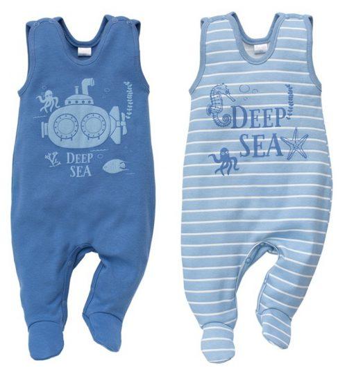 Śpioszki dla niemowląt kolekcja Sea World Pinokio