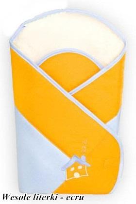 Usztywniany rożek dla niemowląt - becik firmy Baby ZoneWesołe Literki Ecru