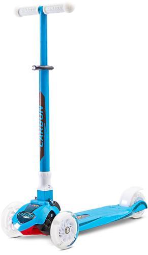 Hulajnoga na 3 kołach dla dzieci - 3 kołowa Carbon, Toyz Sky