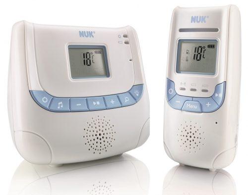 Eco Control Plus Dect 267 - LCD elektroniczna niania - zasięg do 300 m, czujnik temperatury, lampka, kołysanki