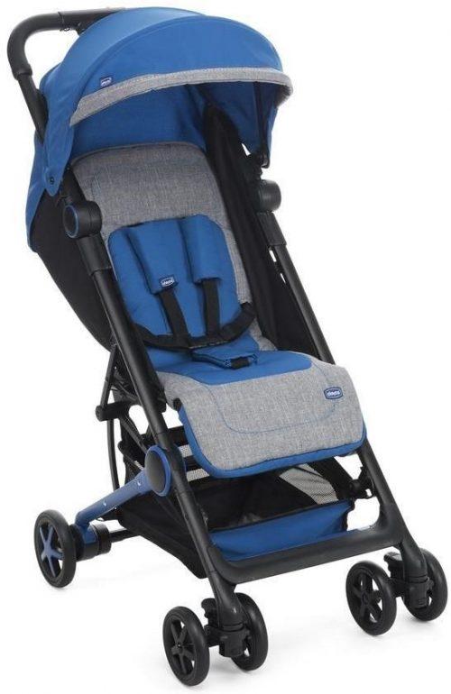 Bardzo lekki wózek spacerowy Miini.Mo Chicco Power Blue