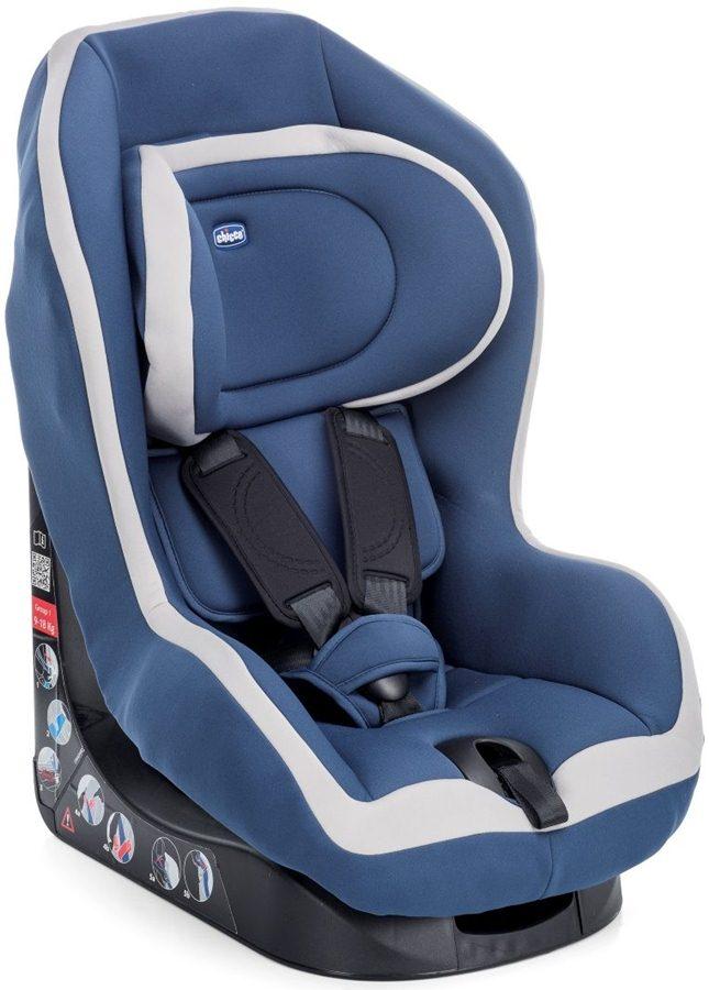 Fotelik samochodowy Chicco Go One 9-18 kg następca X-space Blue