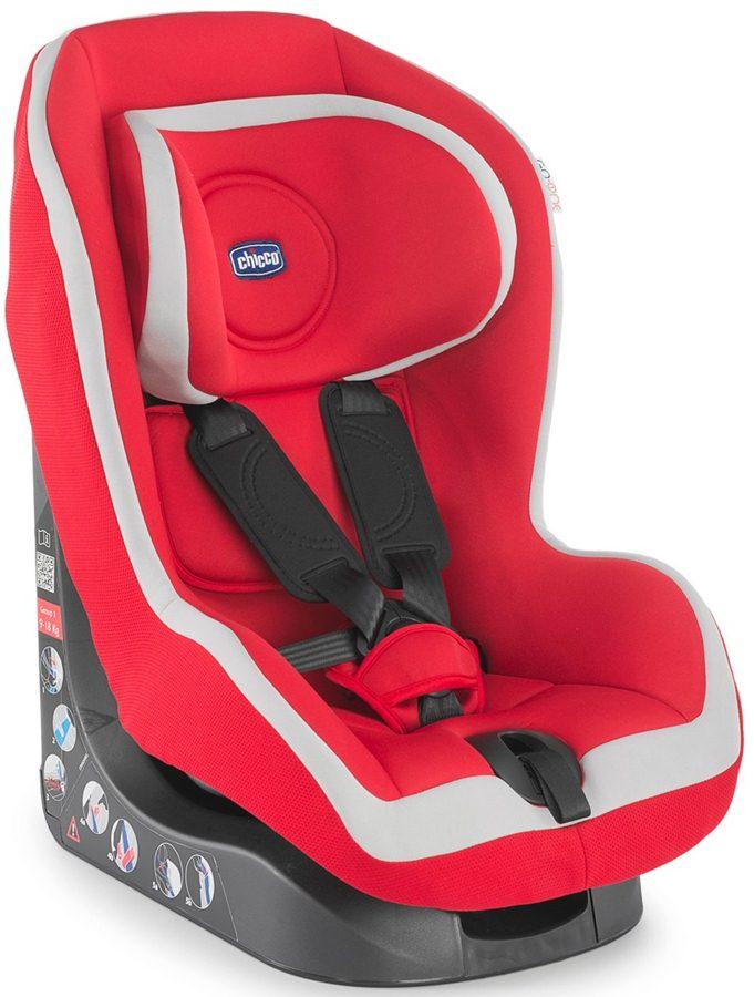 Fotelik samochodowy Chicco Go One 9-18 kg następca X-space Red