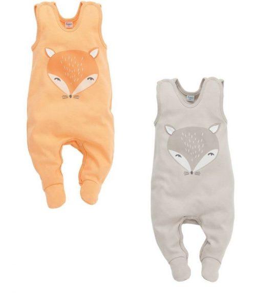Śpioszki dla niemowląt kolekcja odzieży Pinokio Smart Fox