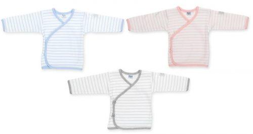 Bawełniana wiązana koszulka, kaftanik dla niemowląt Pinokio kolekcja Happy Kids