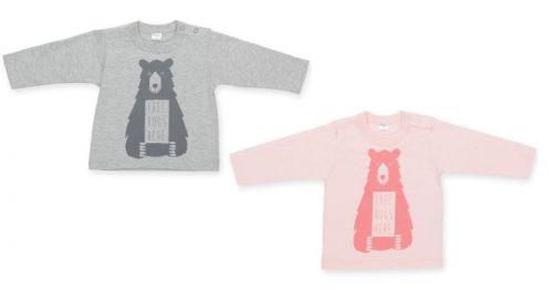 Bawełniana bluzka dziecięca z długim rękawem z nadrukiem Pinokio kolekcja Happy Kids