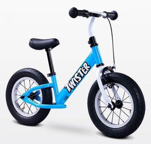 Metalowy rowerek biegowy dla dzieci od 3-6 roku życia Twister, Toyz Blue
