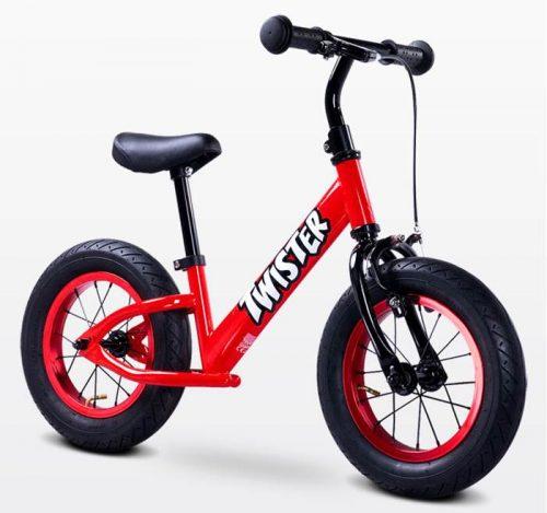 Metalowy rowerek biegowy dla dzieci od 3-6 roku życia Twister, Toyz Red