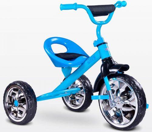 Trójkołowy rowerek na pedały York, Toyz by Caretero Blue
