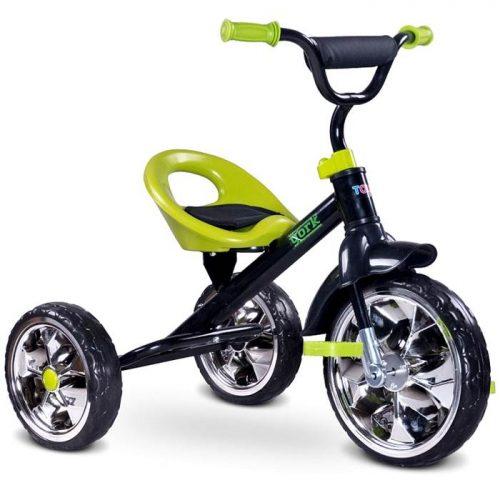 Trójkołowy rowerek na pedały York, Toyz by Caretero Green