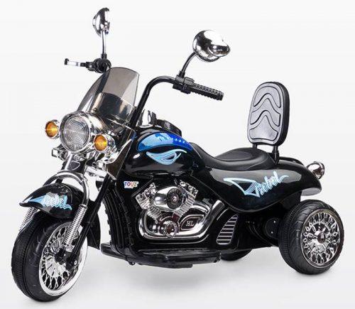 Motocykl Rebel na akumulator dla dziecka + pilot dla rodzica, Toyz Black