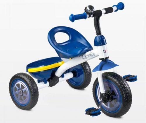 Rowerek trójkołowy Charlie lekki z koszykiem, Toyz Navy