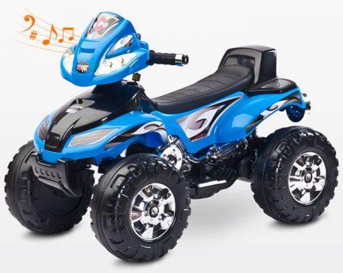 Pojazd na akumulator Quad Cuarto od 3 lat, Toyz Blue