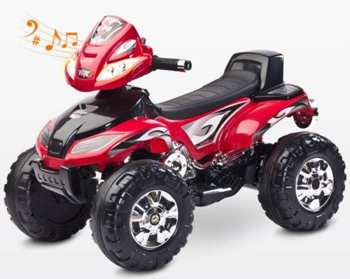 Pojazd na akumulator Quad Cuarto od 3 lat, Toyz Red