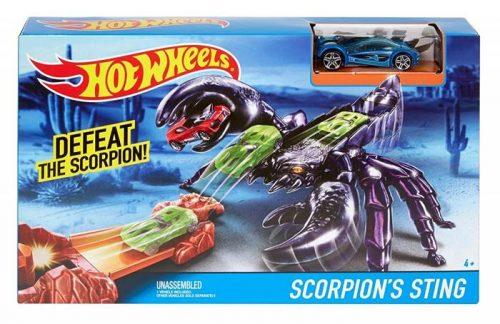 Hot Wheels zestaw torów z potworami Scorpion DWK97