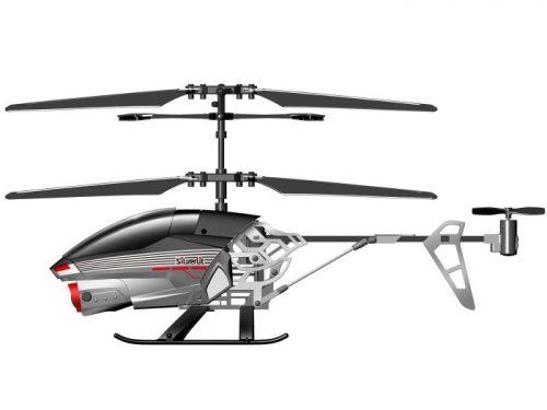 Zdalnie sterowany I/R 2,4G helikopter Silverlit SPY CAM II Szary