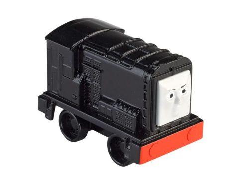 Małe pojazdy lokomotywki Push Along Tomek i przyjaciele Fisher Price Diesel